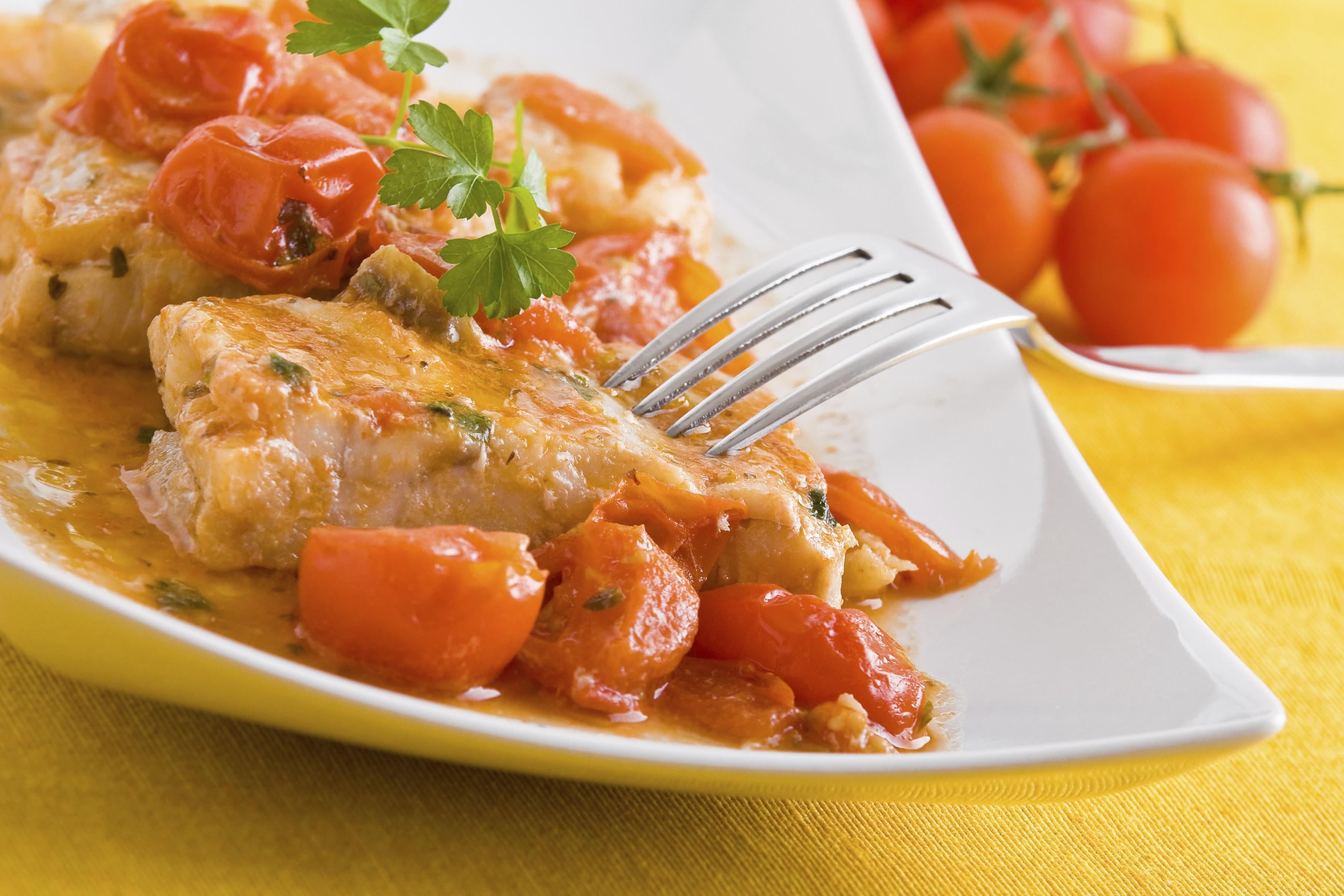 la ricetta del giorno: filetto di merluzzo alla mediterranea - Cucinare Filetto Di Merluzzo